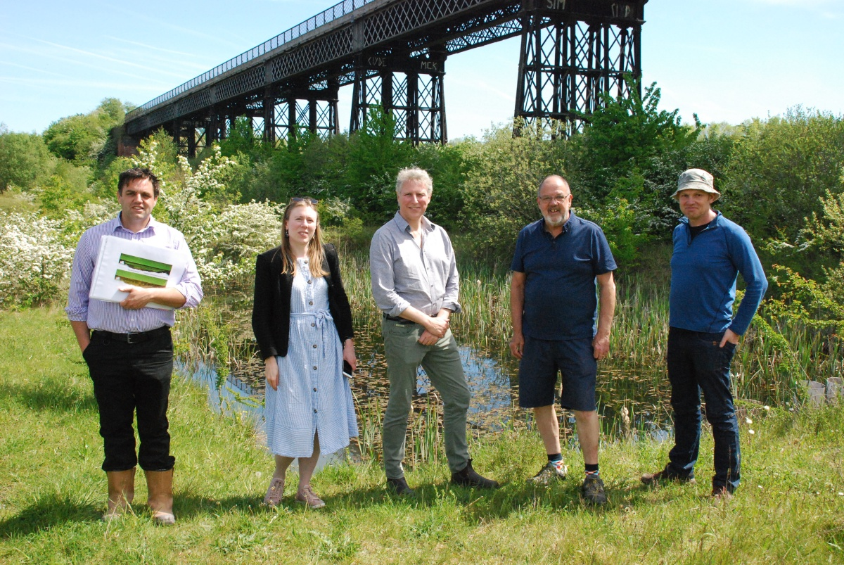 World Monument Fund visit Viaduct