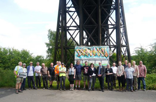 Bennerley Viaduct Project secures National Lottery Heritage Fund Grant.